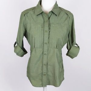 The North Face Hiking Utility Button Up Shirt M